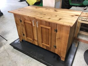 Cabinet - Antique reclaimed wood for Sale in Humble, TX