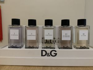 D&G perfume collection set. New authentic warranty. $65 firm for Sale in Anaheim, CA