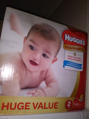 HuGGies litlle snugglers size 2 $ 30 oh cambio por 3 formula Enfamil 12 0z for Sale in Los Angeles, CA