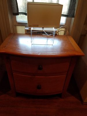 King size frame, dresser and nightstand for Sale in Goldsboro, NC