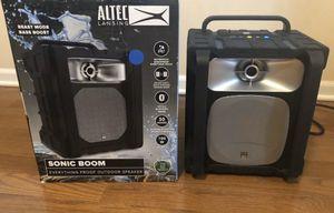 Altec Lansing Sonic Boom Bluetooth Speaker New for Sale in Schaumburg, IL