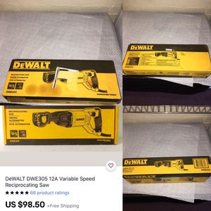 Dewalt Saw With Wire for Sale in Waterbury, CT