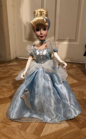 Disney Princess Cinderella Porcelain Doll for Sale in Avondale, AZ