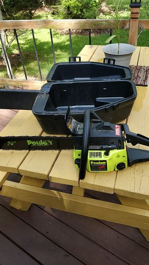 Poulan chain saw for Sale in Lawrenceville, GA