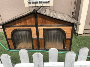 4'X4X 3' XXL double dog house for Sale in Denver, CO