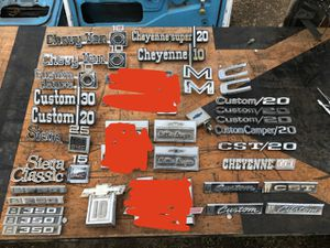 Chevy Gmc c10 truck emblems for Sale in Modesto, CA