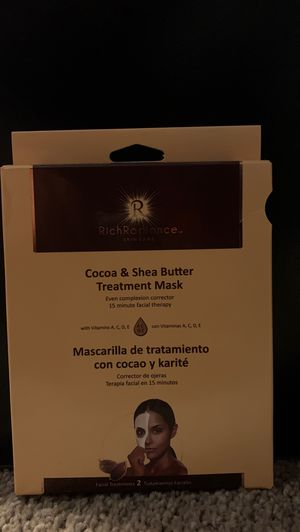 Cocoa Butter Face Mask for Sale in Fort Worth, TX
