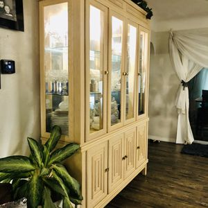 Greek Style China Cabinet for Sale in Clearwater, FL