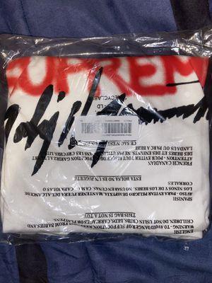 Supreme x Yohji Yamamoto White Tee XLarge FW20 for Sale in Gretna, LA