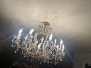 Beautiful gold chandelier for Sale in Los Angeles, CA