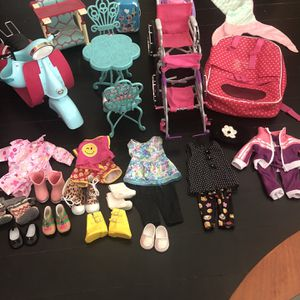 American Girl Doll Accessories for Sale in Arcade, NY
