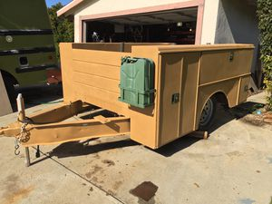Utility trailer - camping trailer - service bed trailer for Sale in Los Angeles, CA