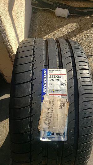 New Michelin tire 255/35 18 for Sale in Dallas, TX