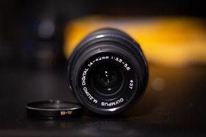 2 Olympus Lenses: 14-42mm f3.5-5.6 & 45mm f1.7 for Sale in Falls Church, VA