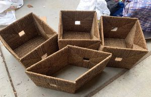 Woven Collapsible Storage Bins for Sale in Menifee, CA