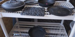 Cast iron caceroles. All for 35.00 FIRM for Sale in Arlington, TX