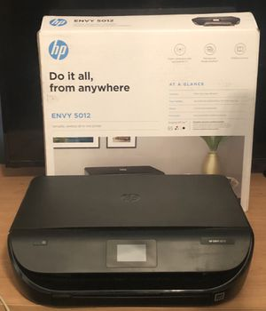 HP All-in-one Printer (Envy 5012) for Sale in NO BRENTWOOD, MD