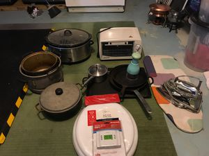 Various house kitchen wares for Sale in Milton, MA