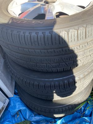 Porsche Cayenne tires and rims 5x130 bolt pattern/ 18's tires for Sale in San Francisco, CA