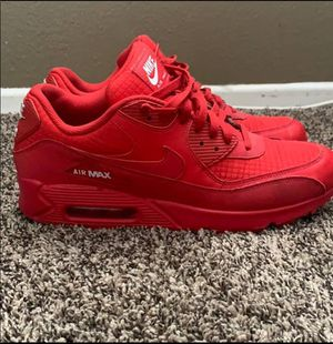 NIKE AIR MAX 90 SIZE 11 ALL RED TRIPLE RED for Sale in New York, NY