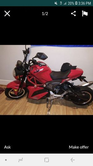 49cc everything works 950 or trade for Sale in Malden, MA
