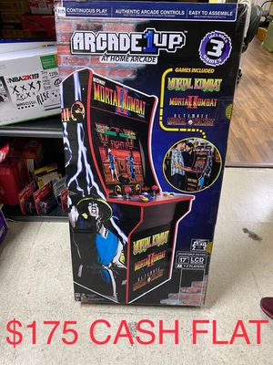 ARCADE1UP MORTAL KOMBAT 2 ARCADE MACHINE BRAND NEW for Sale in Garland, TX
