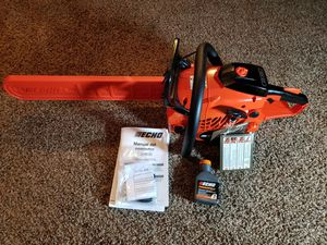 Echo CS-400 18 in. 40.2 cc Gas 2-Stroke Cycle Chainsaw for Sale in Modesto, CA