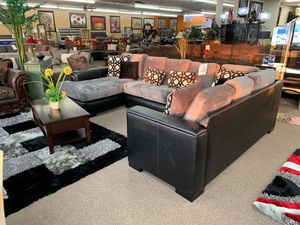 Sectional sofa on sale @ elegant Furniture 🛋🎈 for Sale in Fresno, CA