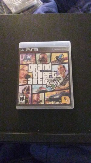 GTA V PS3 for Sale in Stockton, CA