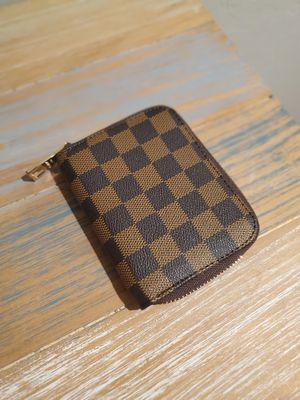 Damier check wallet for Sale in Sun City, AZ