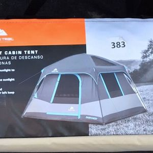 Ozark Trail 6 Person Dark Rest Cabin Tent for Sale in Hanford, CA