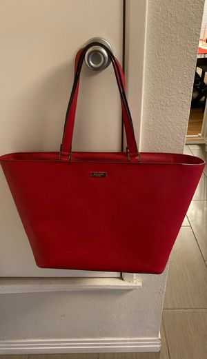 Large red Kate spade tote for Sale in Oceanside, CA