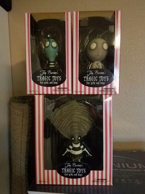 Tim Burton Tragic Toys Collections for Sale in Austin, TX