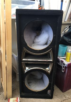 Sdx pro audio speaker box for Sale in Elverta, CA