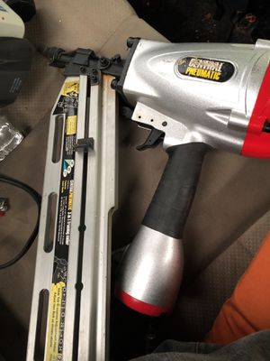 Central Pneumatic nail gun for Sale in Brooklyn, OH