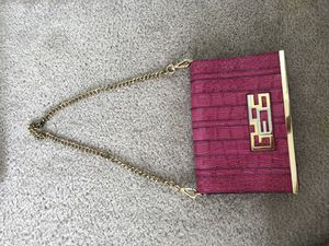 Hot pink faux snakeskin guess purse for Sale in Portsmouth, VA