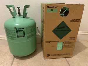 R22 BRAND NEW FREON 2 TANKS for Sale in Bloomington, CA