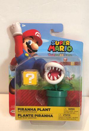 "Super Mario Piranha Plant With Question Block 4"" Action Figure Nintendo Jakks Pacific for Sale in Las Vegas, NV"