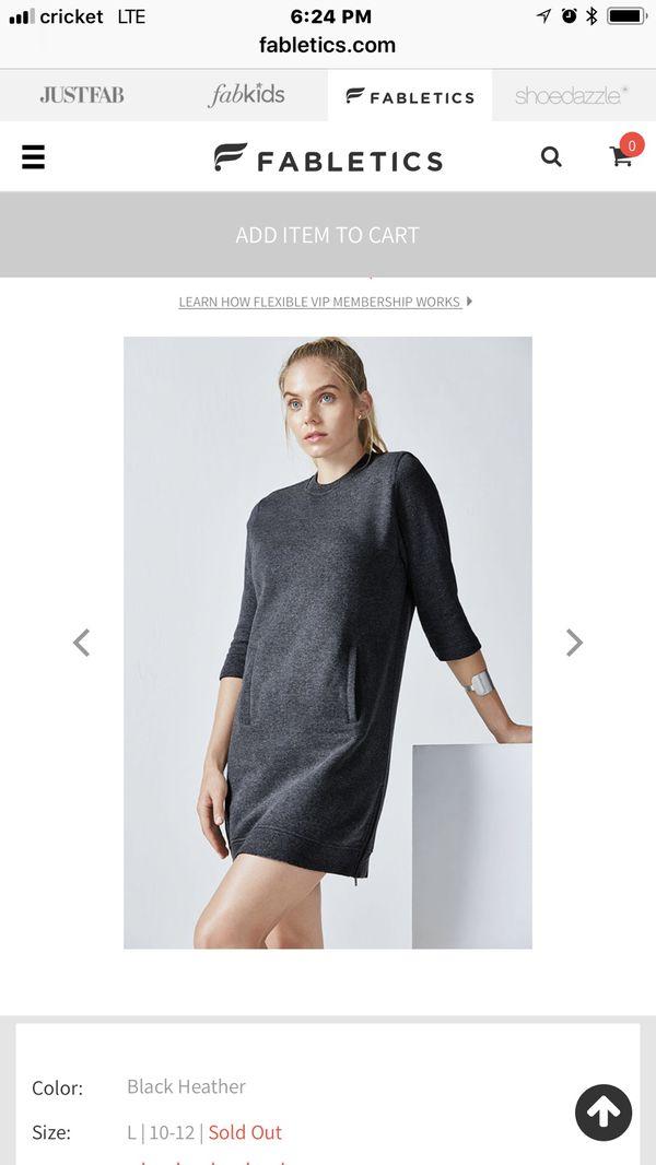 a6456ca7b5 Fabletics ( Kate Hudson s active wear brand) sweater dress ( Elena ...
