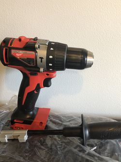 Milwaukee M18 18-Volt Lithium-Ion Brushless Cordless 1/2 in. Compact Hammer Drill Tool Only for Sale in Laurel,  MD