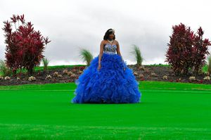 15 quinceanera dress royal blue for Sale in Davenport, FL