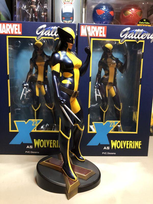 X-Men Wolverine X-23 Action Figure Statue Collectible