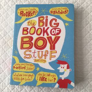 The big book of boy stuff for Sale in Moseley, VA