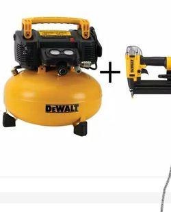 Dewalt Air Compressor With Nailer Gun for Sale in Fort Lauderdale,  FL