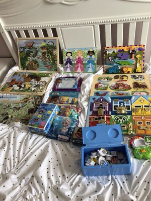Puzzle and game lot for Sale in Fort Mill, SC