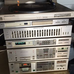 Marantz digital component system direct drive turntable for Sale in West Orange, NJ