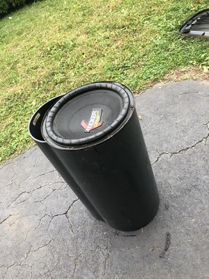 """10"""" bass tube for Sale in Stratford, CT"""