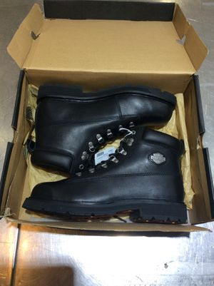 Men's Harley Davidson steel toe work boots size 10.5 inventory number 140082-2 for Sale in Phoenix, AZ