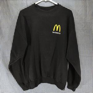 Hanes Black McDonald's Crew Member's Sweatshirt Men's Size Large for Sale in Anchorage, AK