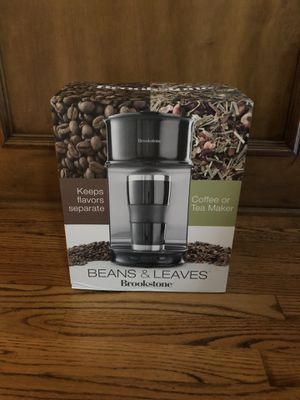 Brookstone Coffee or Tea Maker for Sale in Coppell, TX